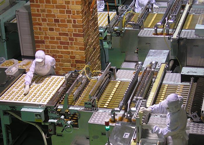 factories for chocolate